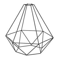 ИКЕА BRUNSTA, Подвесной абажур, 603.330.63, черный, 35 см