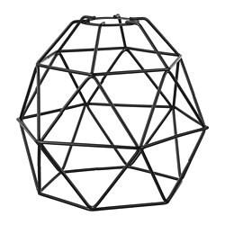 ИКЕА BRUNSTA, Подвесной абажур, 103.330.65, черный, 20 см