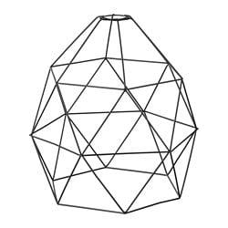 ИКЕА BRUNSTA, Подвесной абажур, 403.330.64, черный, 30 см