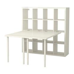 ИКЕА KALLAX, стол письменный, 091.230.87, белый, 147x147x159 см