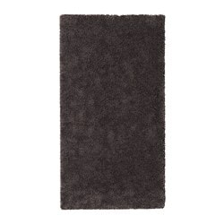 ИКЕА STOENSE, Ковер с коротким ворсом, 704.268.15, темно-серый, 80x150 см