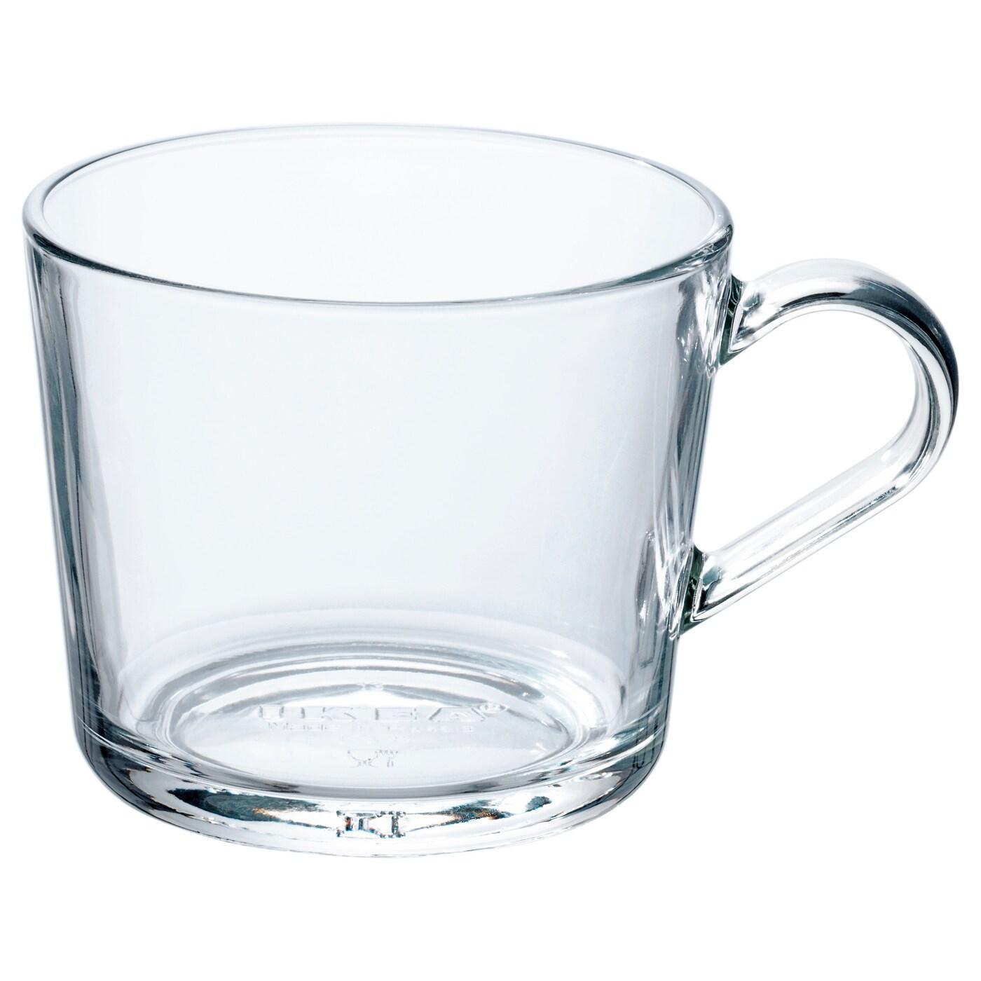 ИКЕА IKEA 365+, чашка, 102.797.23, прозрачное стекло, 24 сл