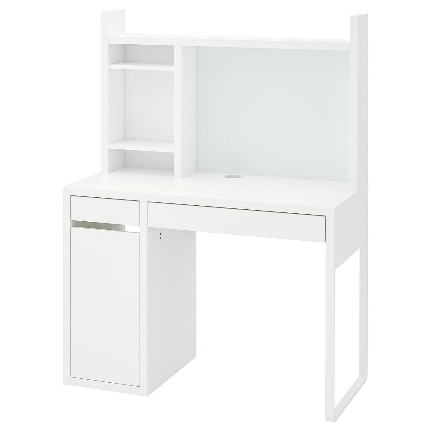ИКЕА MICKE, стол письменный, 099.030.14, белый, 105x50 см